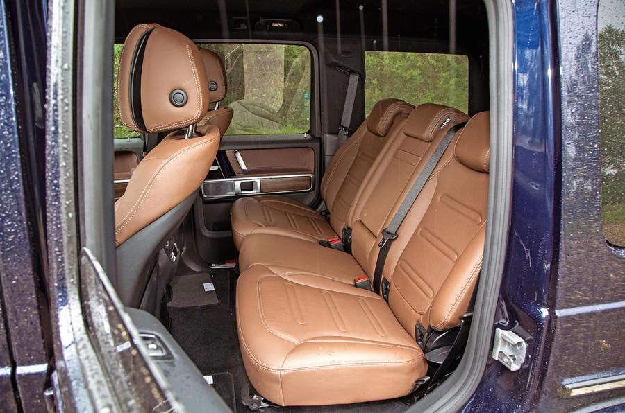Mercedes-Benz G-Class 2019 road test review - rear seats
