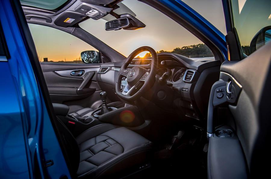 Nissan Qashqai road test review cabin