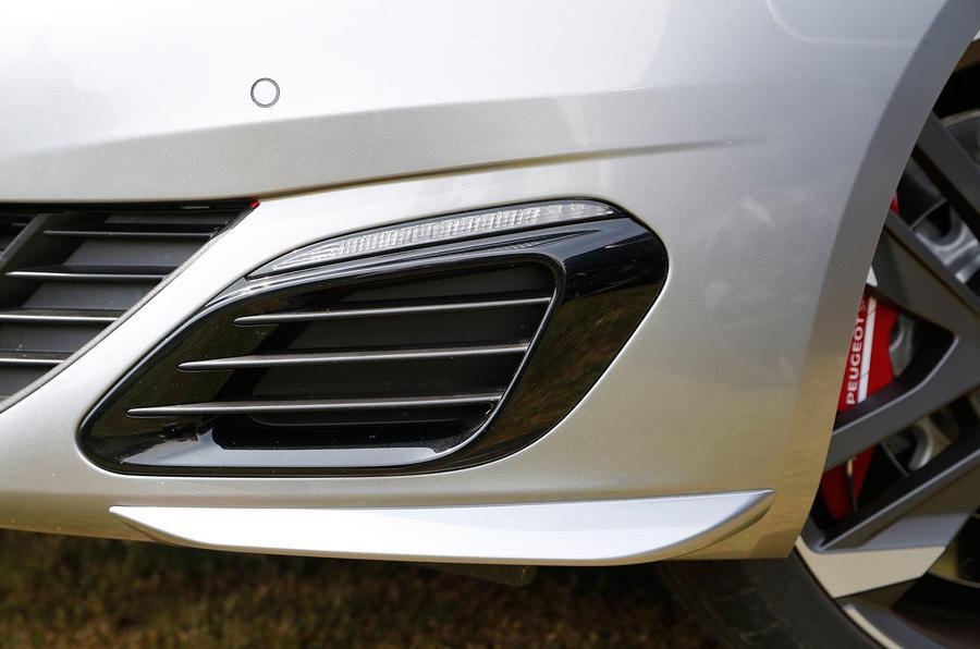 308 GTi 270 front air intake