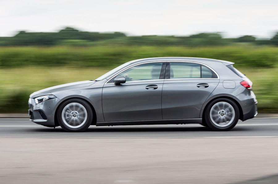 Mercedes-Benz A-Class 2018 road test review on the road