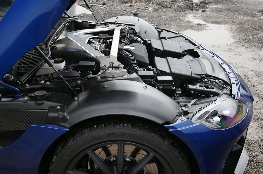 Aston Martin Vantage 2018 review engine