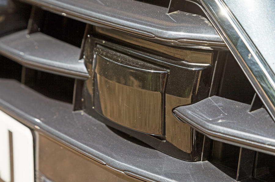 Audi A7 Sportback 2018 road test review front sensors