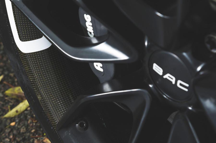 BAC Mono 2018 review - brake calipers