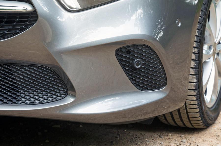 Mercedes-Benz A-Class 2018 road test review fake aero