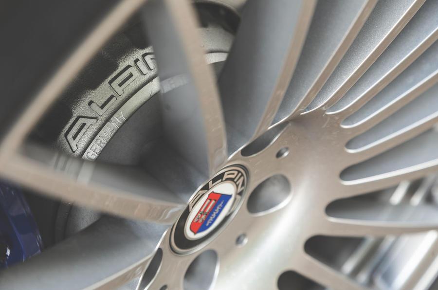 Alpina XD3 2019 UK road test review - brake discs