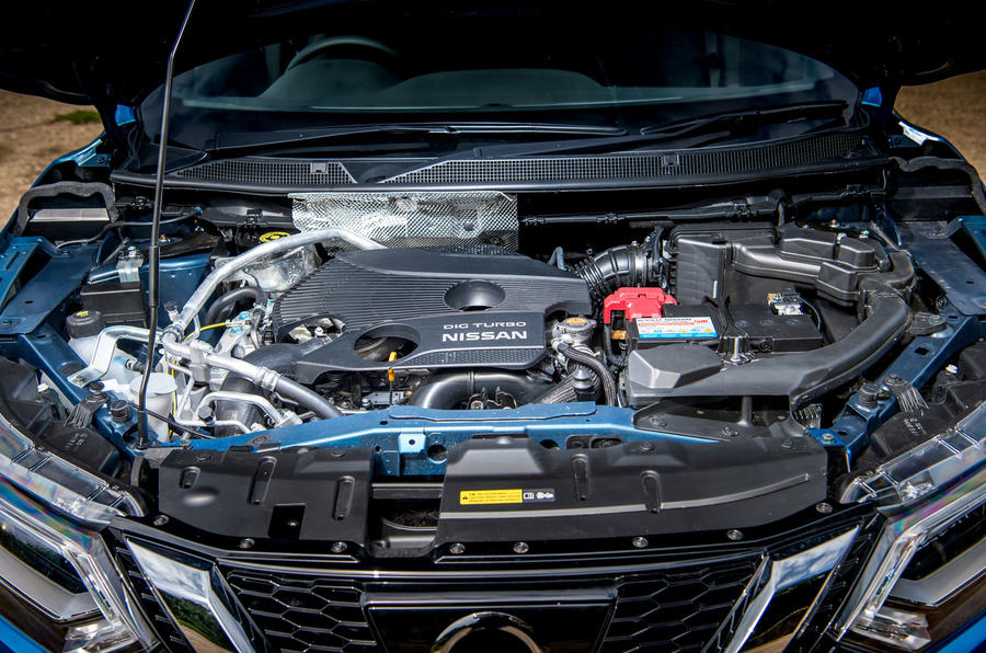 Nissan Qashqai road test review engine