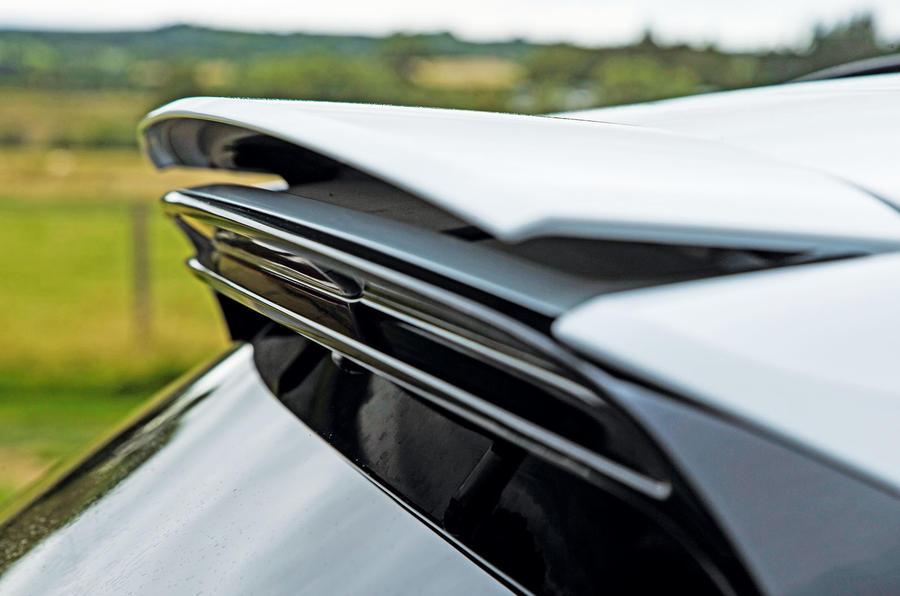 Porsche Cayenne Turbo 2018 road test review spoiler