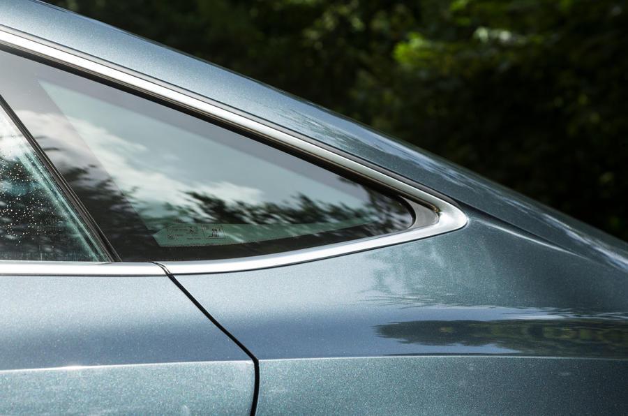 Audi A7 Sportback 2018 road test review rear quarter windows