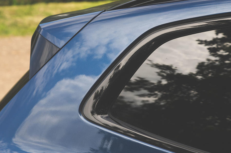 Alpina XD3 2019 UK road test review - rear quarter