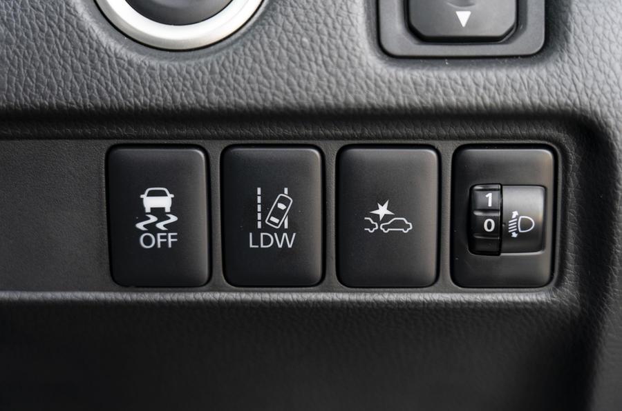 Mitsubishi L200 2019 road test review - ADAS controls
