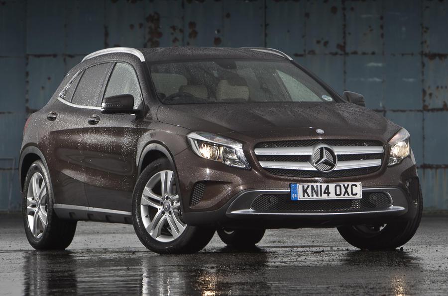 3.5 star Mercedes-Benz GLA