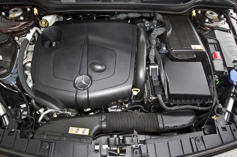 Mercedes-Benz GLA 220CDI engine