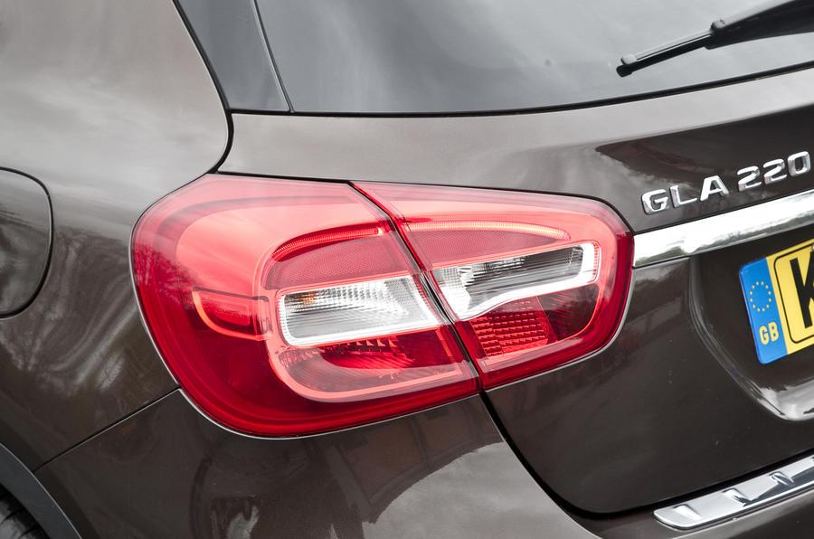Mercedes-Benz GLA rear lights