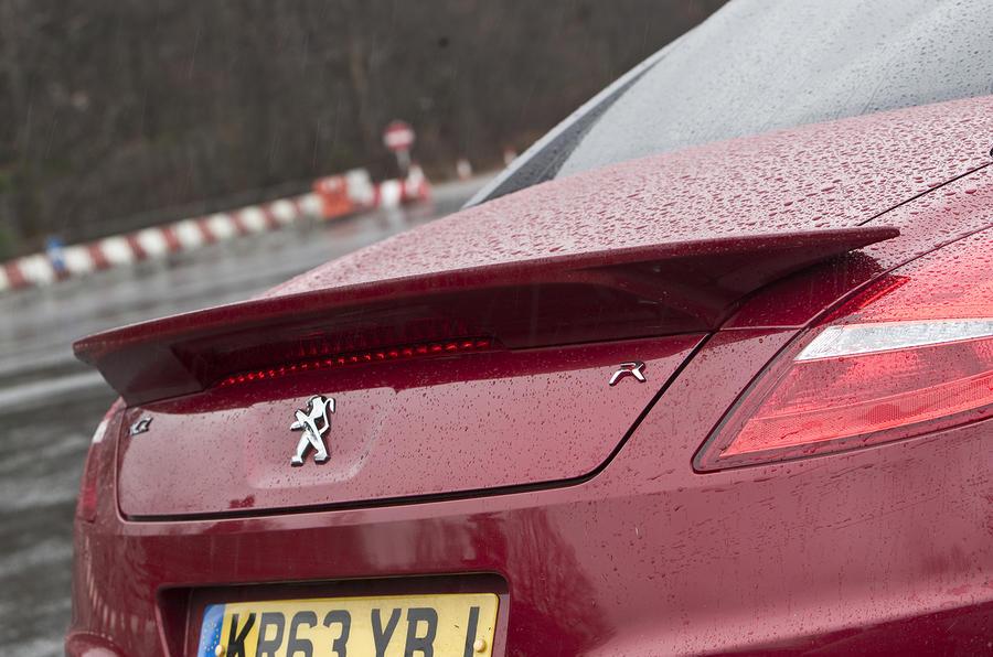 Peugeot RCZ R rear spoiler
