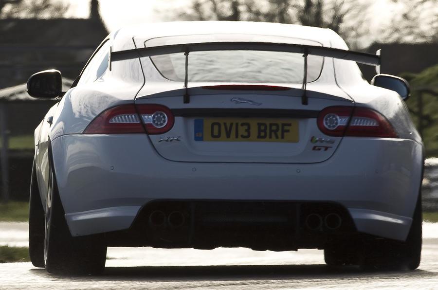 Jaguar XKR-S GT rear cornering
