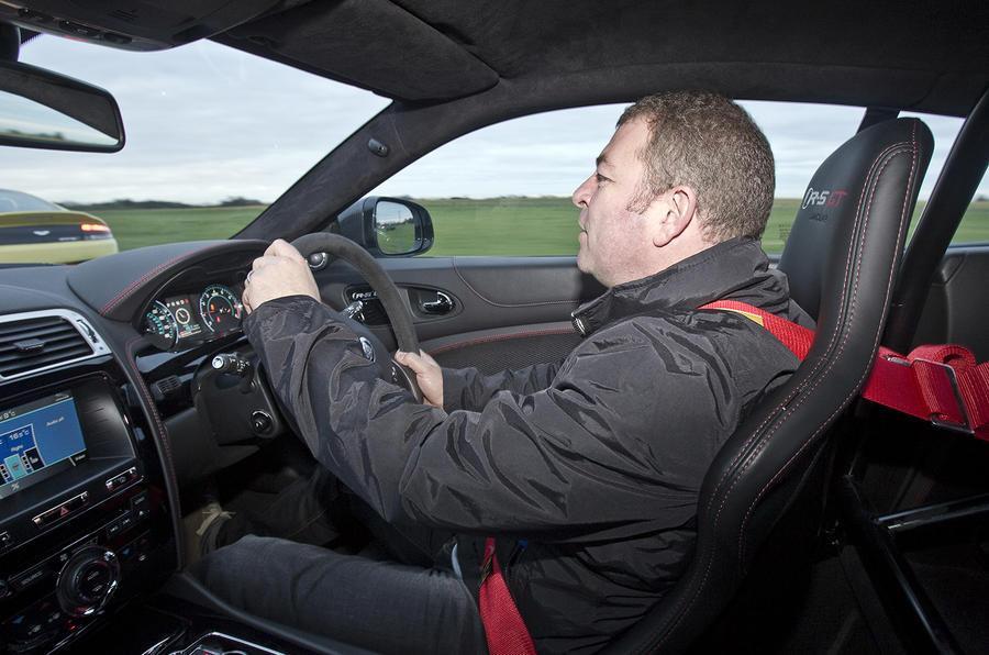 Driving the Jaguar XKR-S GT