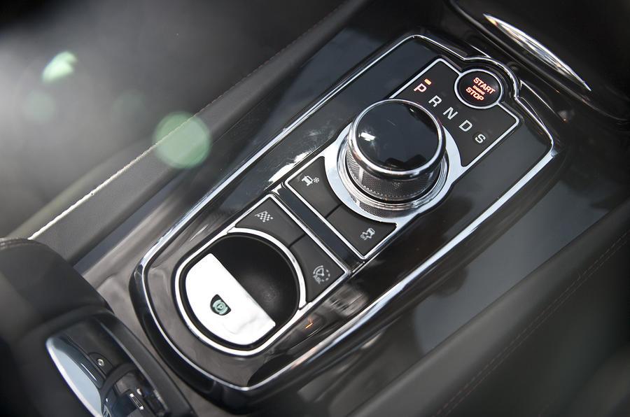 Jaguar XKR-S GT automatic gearbox
