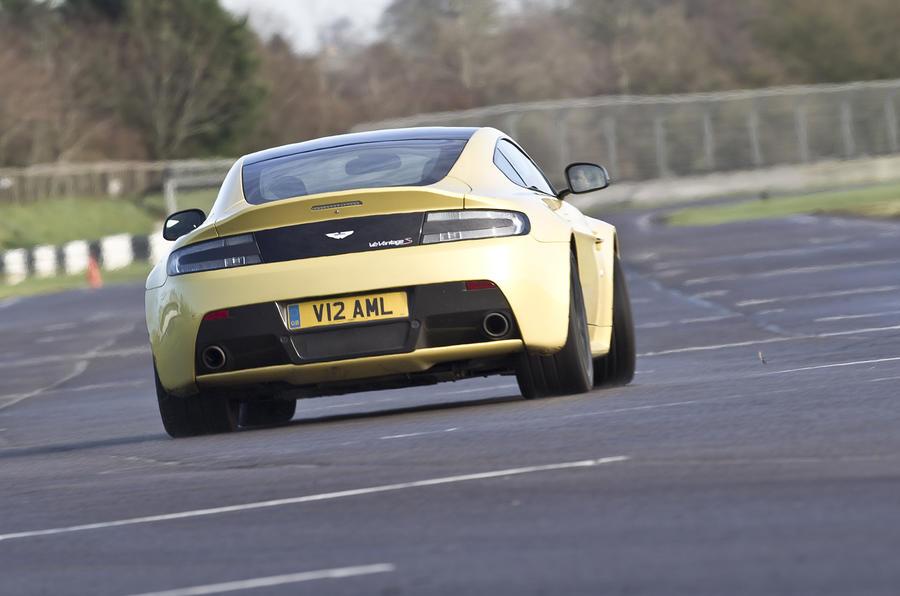 The £138,000 Aston Martin V12 Vantage S