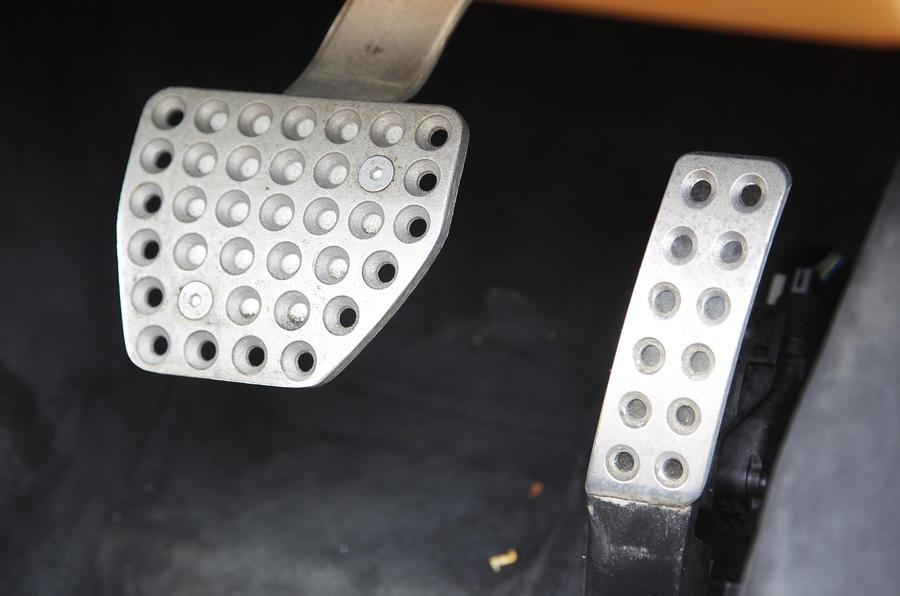 Ferrari F12 Berlinetta aluminium pedals