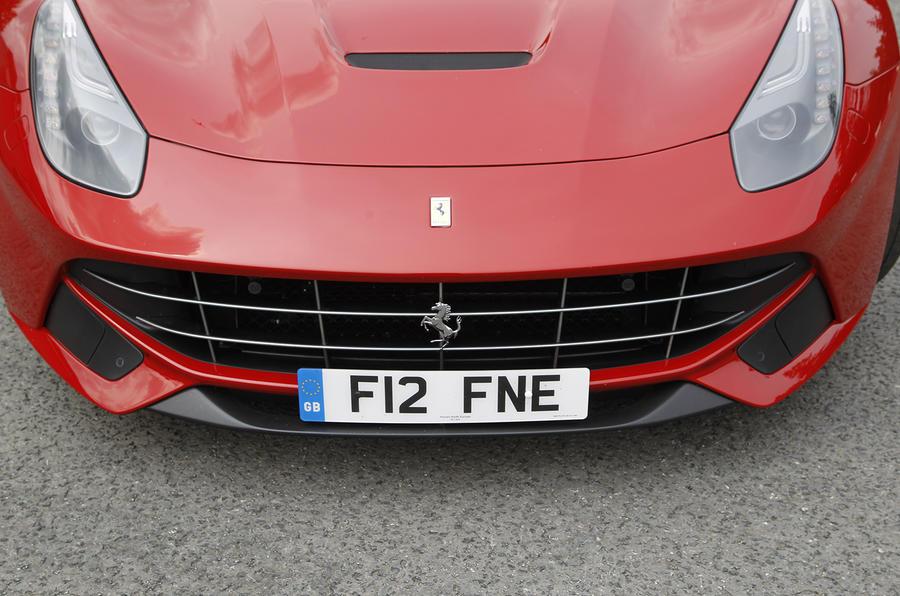 Ferrari F12 Berlinetta front grille