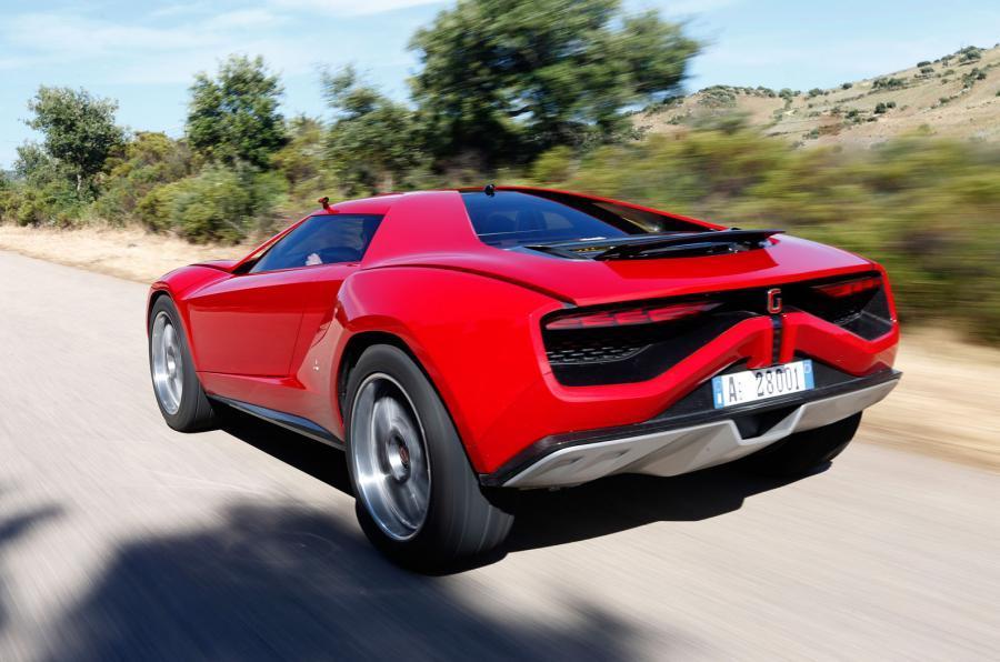 ItalDesign Giugiaro Parcour 4x4 rear