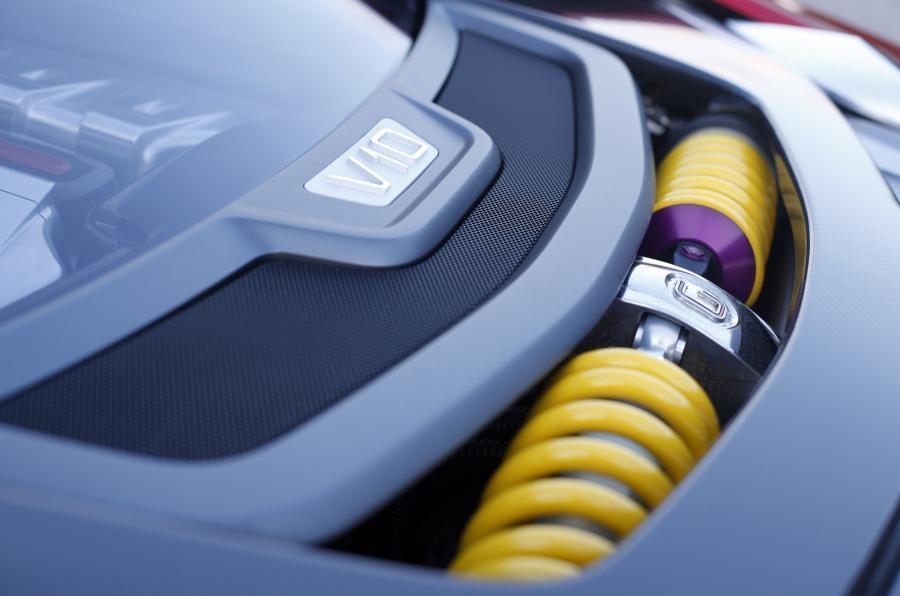 ItalDesign Giugiaro Parcour 4x4 suspension