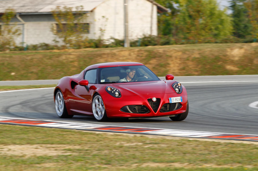 Alfa Romeo 4C's has high gearing