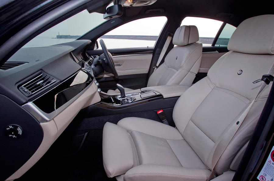 Front seats in the Alpina D5