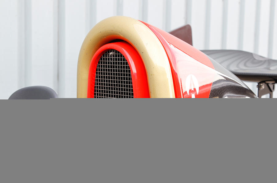F1-style air duct in Ariel Atom