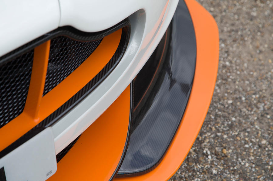 Aston Martin Vantage GT12 front lip