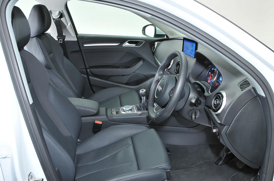 Audi A3 Saloon interior
