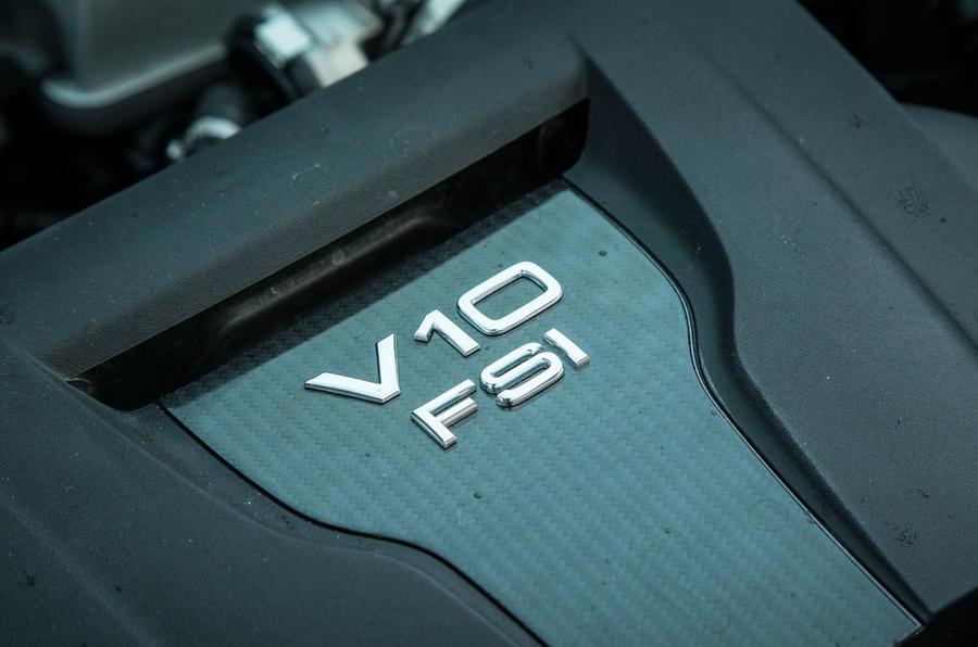 The Audi R8 engine is the same as the Lamborghini Huracan