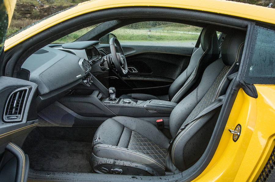 Inside the second generation Audi R8
