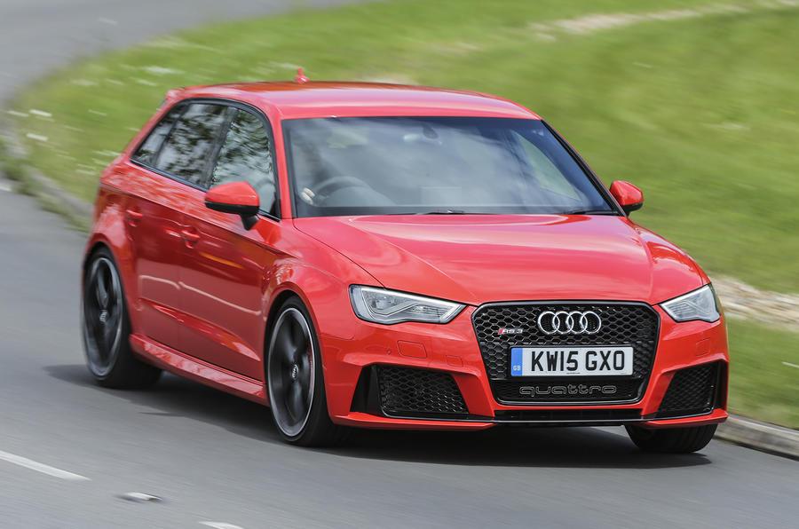 Audi RS3 Sportback cornering
