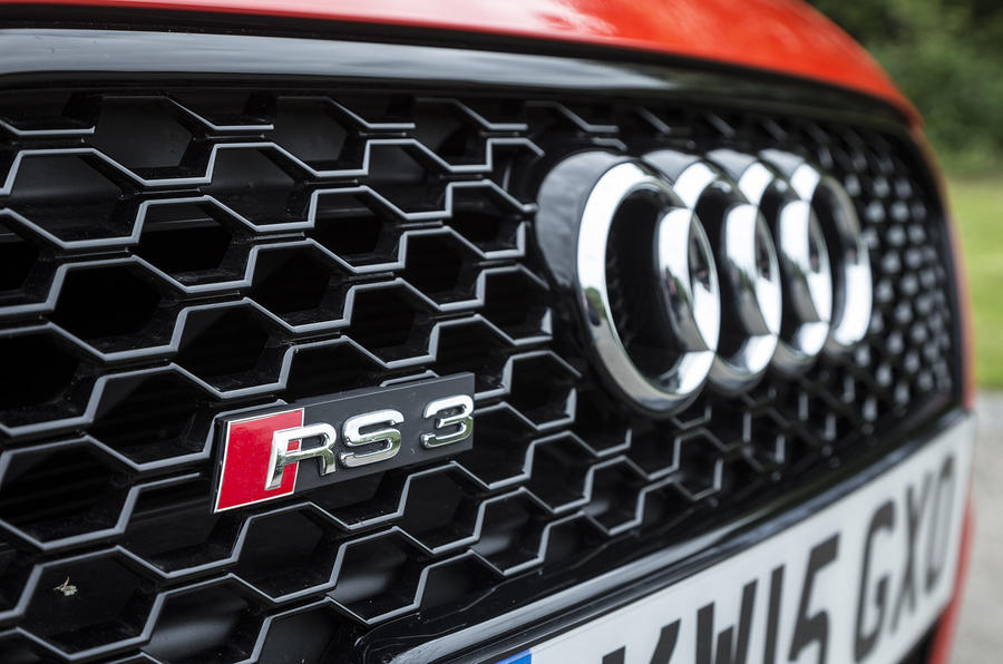 Audi RS3 front grille badge