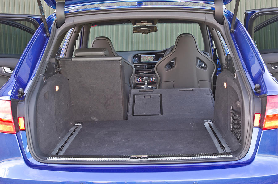 Audi RS4 Avant's boot