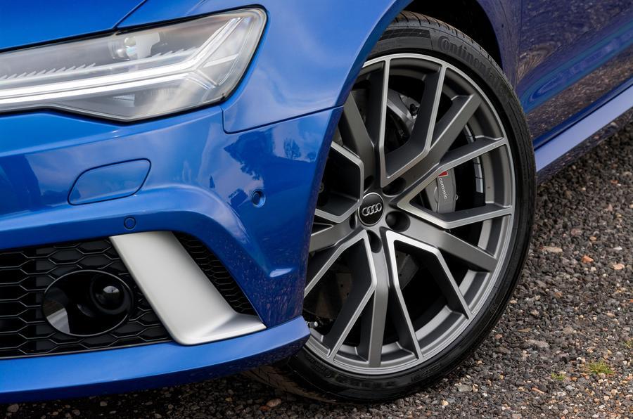 21in Audi RS6 alloy wheels