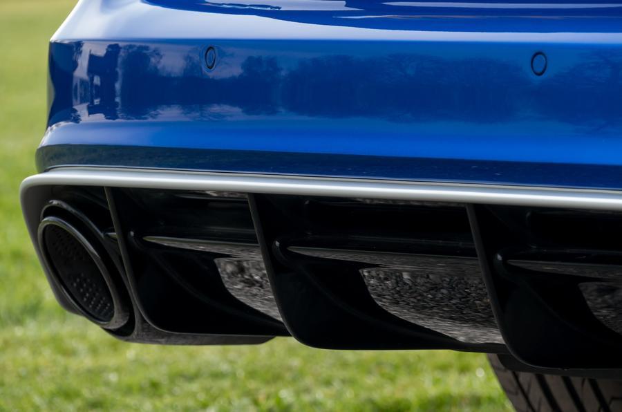 Audi RS6 rear diffuser