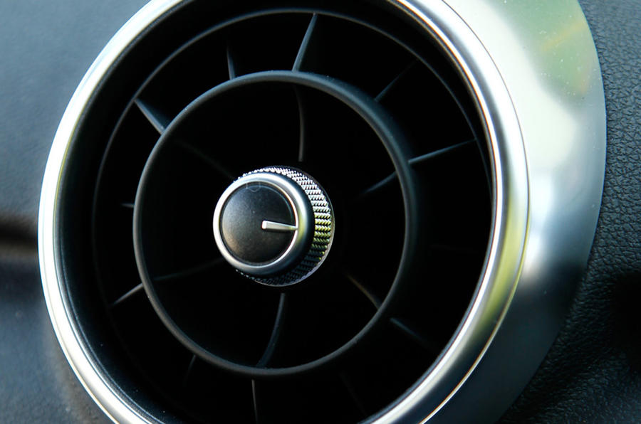 Air vents in the Audi S1