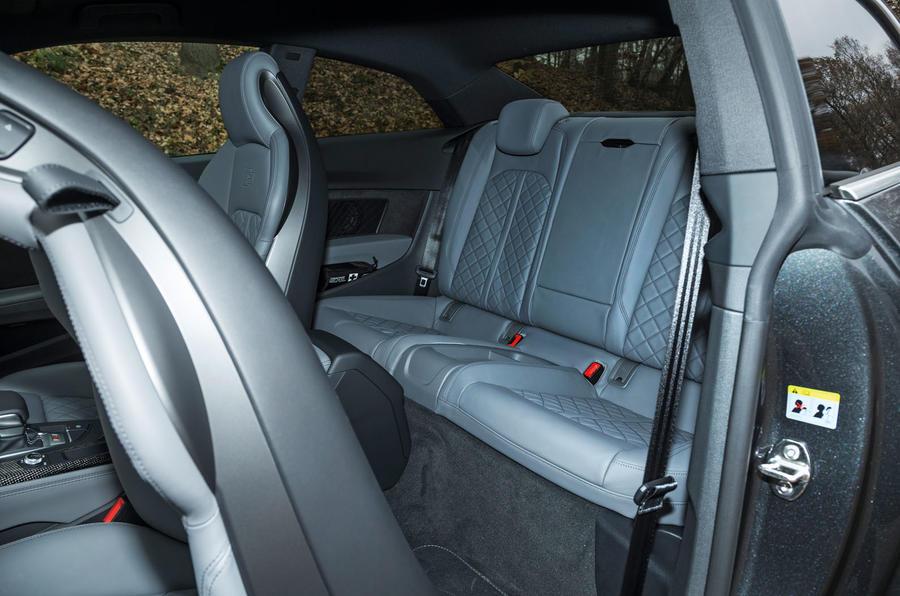 Audi S5 rear seats