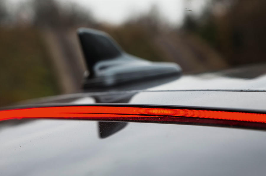 Audi S5 rear third brake light