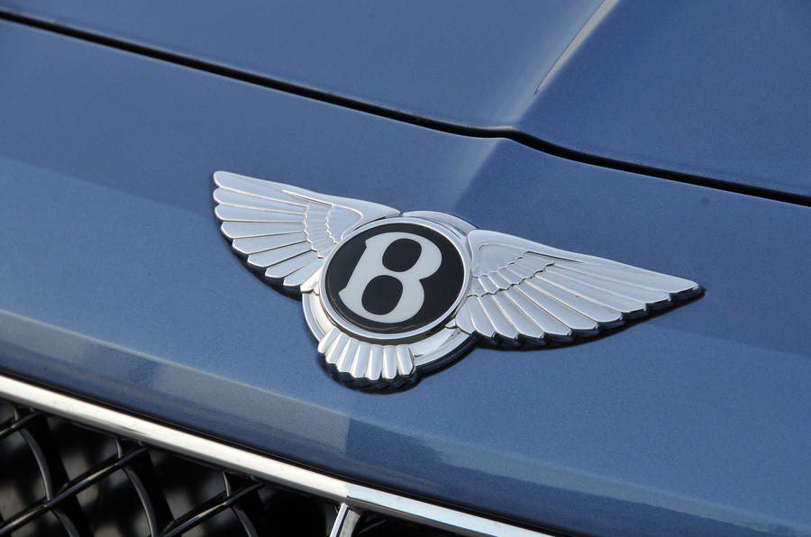 Bentley Bentayga Diesel badging