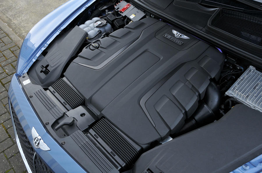 4.0-litre V8 Bentley Bentayga Diesel engine