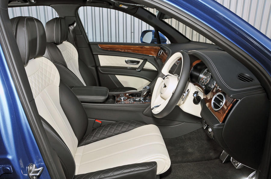 Bentley Bentayga Diesel interior