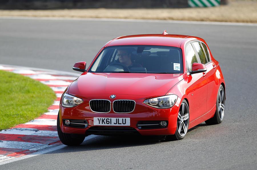 BMW 1 Series cornering