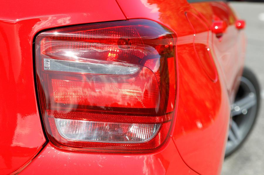 BMW 1 Series tailights