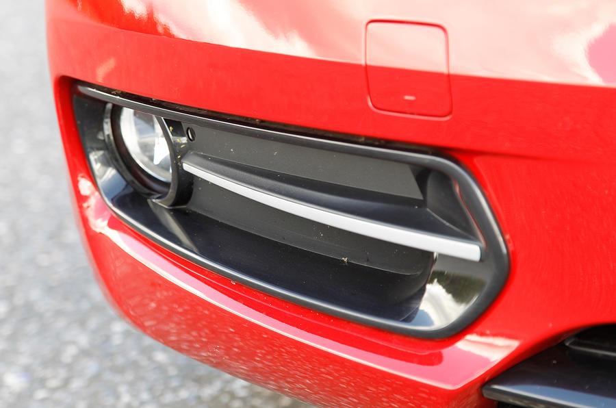 BMW 1 Series foglights