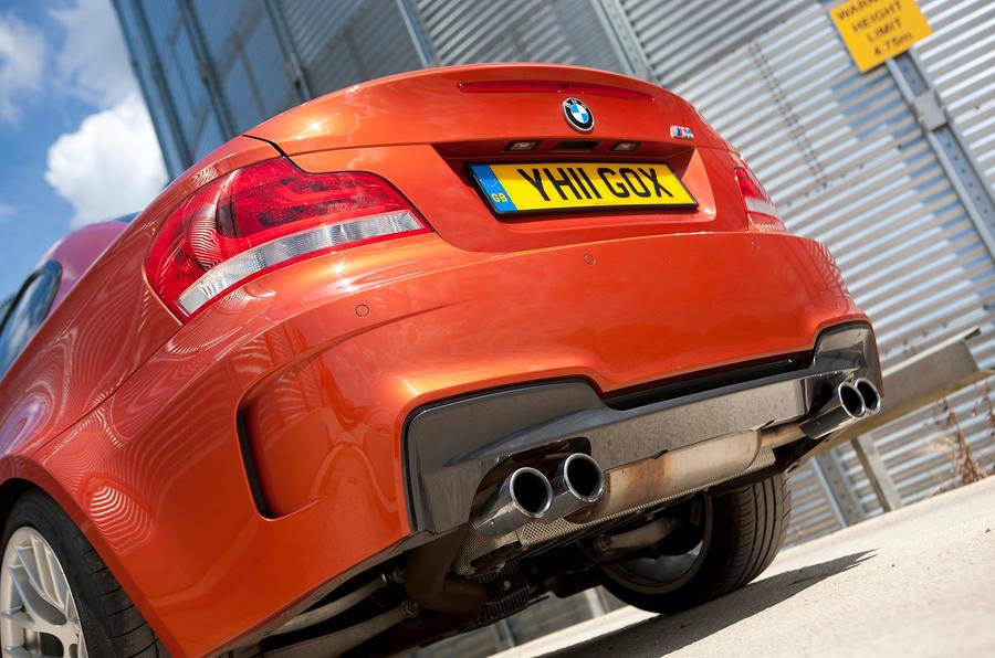 BMW 1 Series M Coupé quad-exhausts