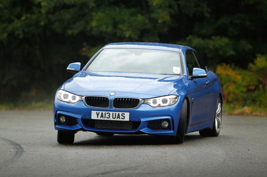 BMW 4 Series cornering