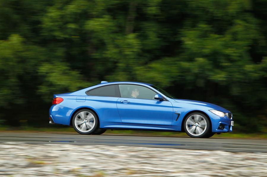 BMW 4 Series side profile